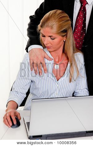 Sexual Harassment At Work In The Office