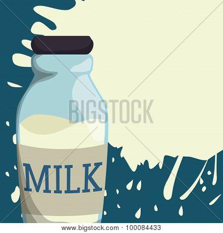 Milk splash design