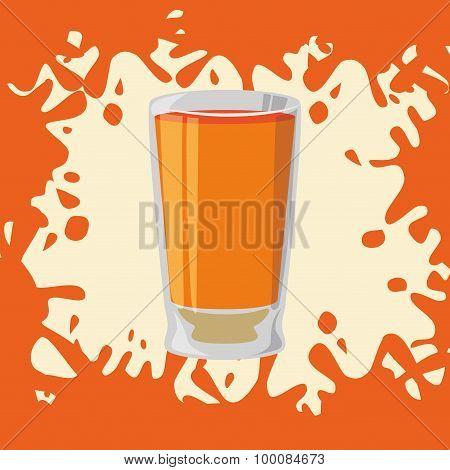Juice splash design