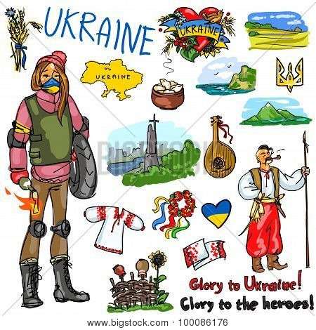 Travelling attractions - Ukraine