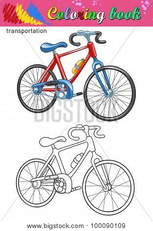 Coloring of bicycle