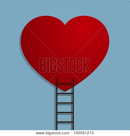Heart With Ladder