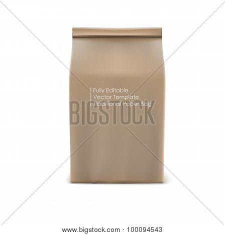Classic paper bag.
