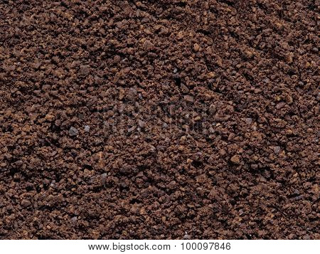 Grounded Coffee Bean Food Background
