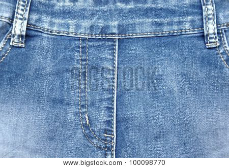 Blue Jeans For Background