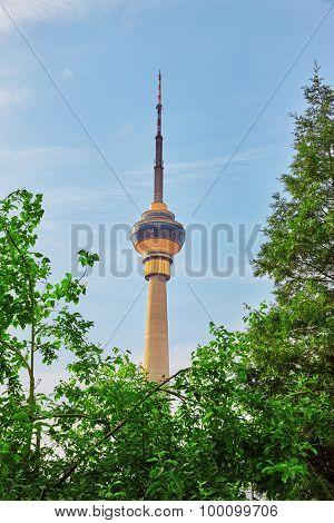 Cctv Tower, In  Beijing, China.