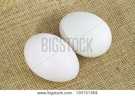 Organic Duck eggs and Chicken eggs and preserved egg