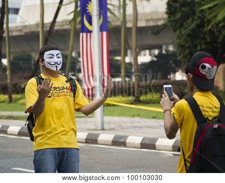 Bersih4 Rally Day 2, Malaysia