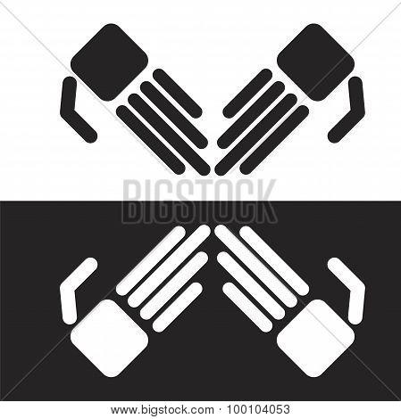 Vector Simple Robot Hands