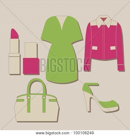 Woman clothing set