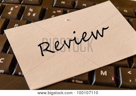Review Text Concept Note