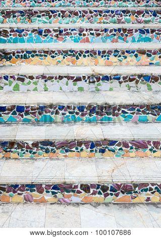 Ceramic Tile Staircase