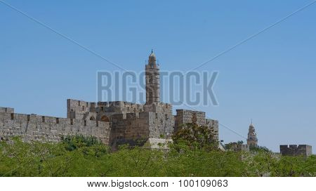 The Old City Wall Of Jerusalem