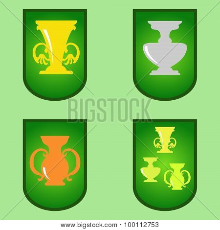 Cup Cartoon vector illustration