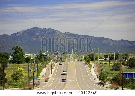 Highway to the mountains