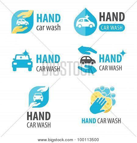Hand Car Wash Logo
