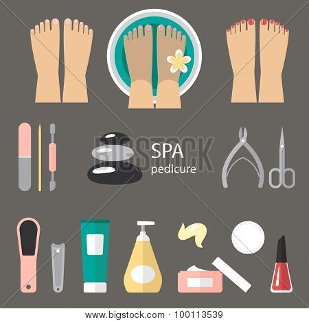 Pedicure Icons