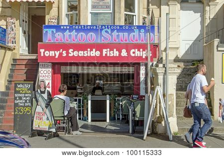 Tattoo And Chips, British Seaside