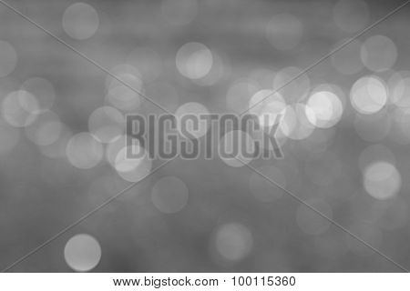 Natural Light Black And White Blurred Background