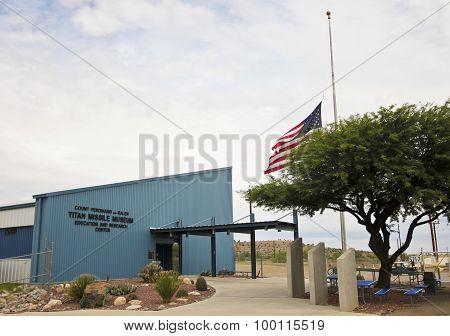 A Titan Missile Museum Entrance, Sahuarita, Arizona