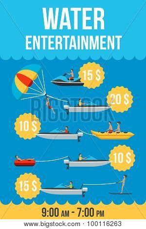 Water Entertainment Price List