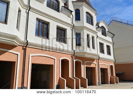KRASNOGORSK, RUSSIA - APRIL 22,2015: Krasnogorsk is city and center of Krasnogorsky District in Mosc
