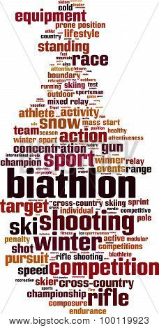 Biathlon Word Cloud