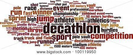 Decathlon Word Cloud