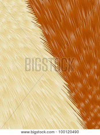 Beige-brown Fur Background