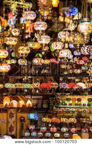 Lámparas Árabes en Granada