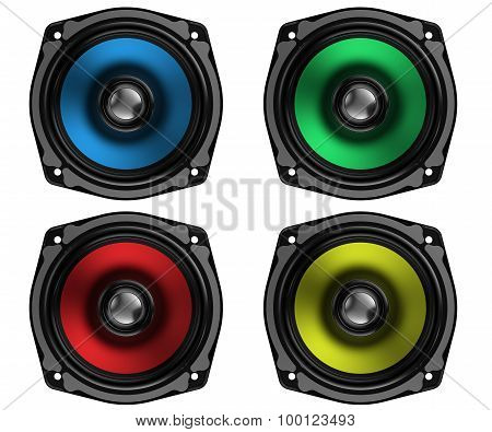 Colorful Speakers