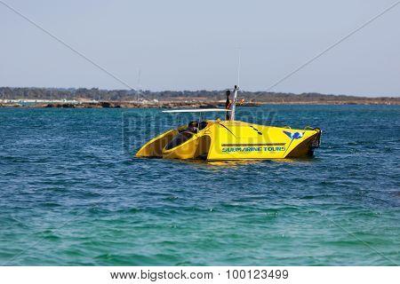 Travel Submarine Ship In Mallorca
