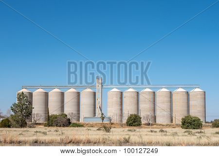 Grain Silos At Modderrivier