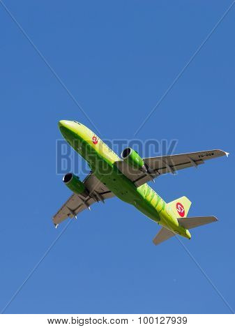Airbus A319-115Lr S7 Airlines