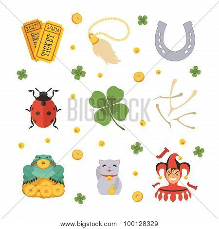 Set of the Lucky Charms icons