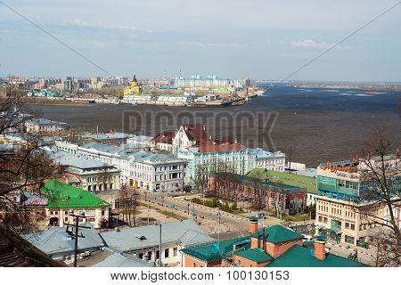View Of Center Nizhny Novgorod