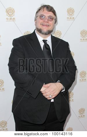 HOLLYWOOD, CA-JUN 1: Director Guillermo del Toro attends the 2014 Huading Film Awards at The Montalban on June 1, 2014 in Hollywood, California.