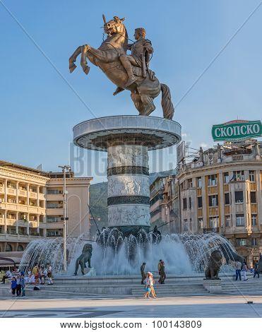 Alexander the Great Skopje