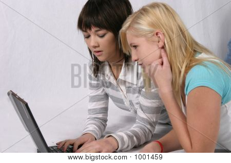 internet on computer