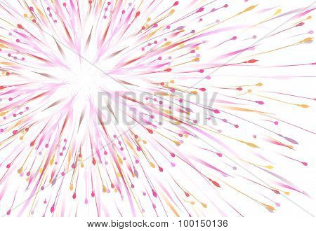 Colored Painting Brush Texture Abstract Background