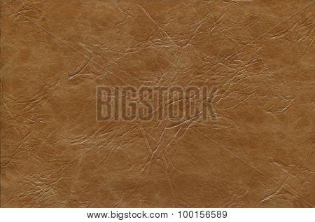 Brown cowhide