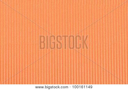 Orange Crepe Paper Close Up