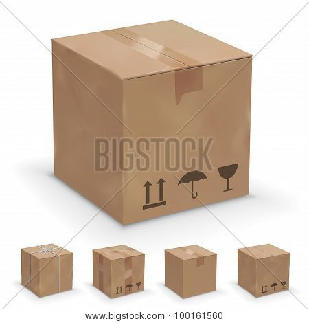 different boxes