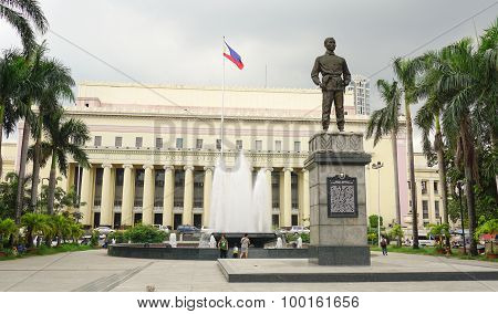 Facade Of Manila Central Post Office