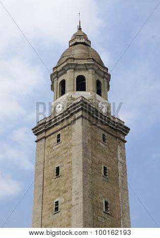 Clock Tower Of Manila City Hall