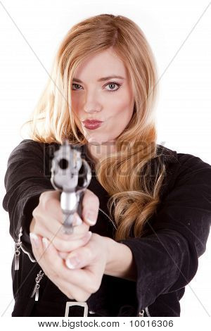 Blond Smirk Gun