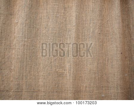 Burlap Texture With Thick And Coarse Thread