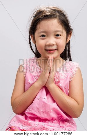 Thai Welcome Greeting Sawasdee Background / Thai Welcome Greeting Sawasdee / Thai Welcome Greeting S