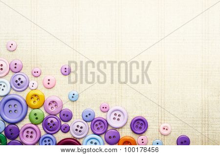 Multicolor Sewing Buttons