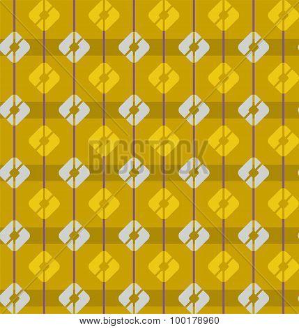 Yellow, Gold, Seamless Patter...